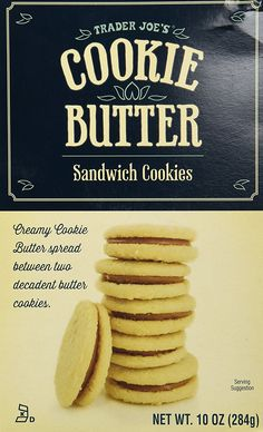 Trader Joe's Cookie Butter Sandwich Cookies => To view further, visit now : Fresh Groceries