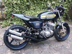 Kawasaki triple! But a bit more modern , I LOVE IT !