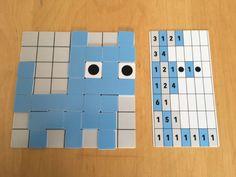 Kleuters digitaal! Codeer met Pixels - Kleuters digitaal! Free Puzzles For Kids, Computer Lessons, Computer Science, Dinosaurs Preschool, Computational Thinking, Busy Boxes, Coding For Kids, Stem Science, Life Science