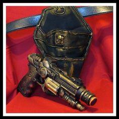 steampunk gun/holster