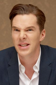 Benedict Cumberbatch at The Hobbit: The Desolation of Smaug press conference, December, 2013.