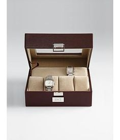 Top Father's Day Gift Ideas for Your Father-In-Law — Kathln. Leather Watch Case.