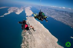 Tandem skydiving, climbing, kayaking, flying and more adrenaline tours. Book active holiday on amazing location with top rated adventure company in Croatia. Paragliding, Skydiving, Tandem, Croatia, Kayaking, Mount Everest, Tours, Vacation, Kayaks