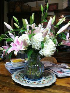 Hydrangea & Lillies