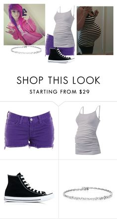 """""""Lana"""" by jaebummie ❤ liked on Polyvore featuring J Brand and Converse"""