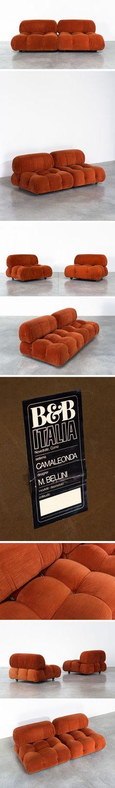 Mario Bellini Camaleonda lounge chairs B&B Italia Large