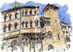 Urban Sketches - Bologna