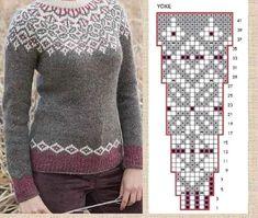 Crochet Blanket Patterns, Stitch Patterns, Knitting Patterns, Scandinavian Pattern, Knit Art, Cross Stitch Pillow, Fair Isle Knitting, Color Patterns, Christmas Sweaters