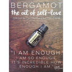 Affirmations and Essential Oils for Self-Love #organichomehealth