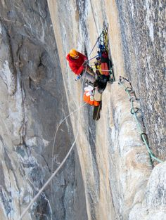 Extreme climb. #MeetTheMoment