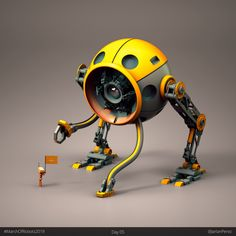 """ Hey I'm Jarlan, a Visual Designer. I love making fun little robots with personality, cozy iso rooms, and sci-fi ships. I mostly post about art and design and absolutely love checking out work from fellow designers! Here's a few bots. Arte Robot, Robot Art, Robot Design, Game Design, Robots Characters, Sci Fi Armor, Sci Fi Ships, Robot Concept Art, Sculptures"
