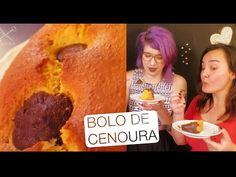 Bolo de Cenoura Recheado de Brigadeiro ft Fotografando à Mesa - CDUDA - YouTube