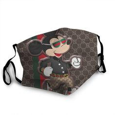 We ship it from 601 N Ashley Dr, Tampa, FL with the current difficult situation it will take days for you to receive it This high quality Best Face Mask, Face Masks, Gucci Pattern, Gucci Fashion, Mickey Mouse Cartoon, Gucci Bags, Fashion Face Mask, Louis Vuitton Monogram, Balenciaga