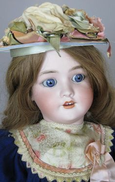 Antique 29' Simon Halbig Heinrich Handwerck Bisque Head German Doll