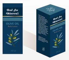 Dead Sea Cosmetics Olive Oil Set on Behance