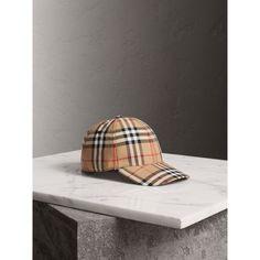 Gorra de béisbol de Vintage Checks Trajeron 2baa2d6b56d