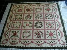 I love this quilt. Very similar to the one I made for my daughter.