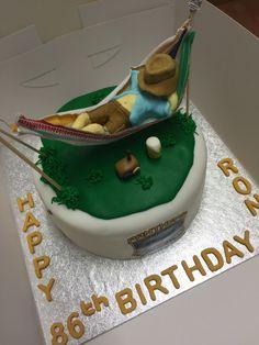 Lazy Day Hammock Cake By Tanya Cakesdecor Com Cake