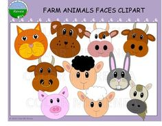 Preschool Farm Crafts, Farm Animals Pictures, Felt Finger Puppets, Face Pictures, Little Critter, Animal Faces, You Are Awesome, Funny Animals, Bull Bull