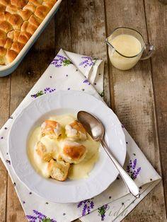 POTŘEBNÉ PŘÍSADY:  Buchtičky: 170 ml mléka 14 g droždí 1 vejce 100 g másla 400 g hladké mouky 100 g cukru krupice sůl  Na dokončení: máslo (dohromady  ...