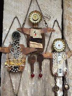 778 best Assemblage and found Found Object Art, Found Art, Assemblage Art, Recycled Art, Metal Crafts, Yard Art, Metal Art, Altered Art, Art Dolls