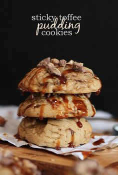 Sticky Toffee Pudding Cookies