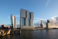 Gebouw De Rotterdam / De Verticale Stad  ( OMA )