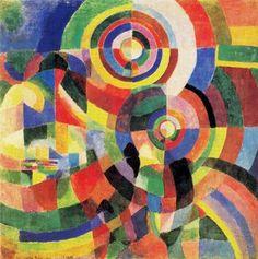 26 Robert Delaunay(1885-1941),pintor francés,fue uno de los pioneros del arte abstracto a principios del siglo XX.En 1912 abandonó el cubismo, con sus formas geométricas y colores monocromáticos, para embarcarse en un nuevo estilo, el orfismo, que se centró en las formas circulares y en los colores brillantes, y que ha sido también calificado de cubismo abstracto o rayonismo.Su serie Ventanas (1912) constituyó uno de los primeros ejemplos de un arte abstracto total #art #delaunay #barcelona