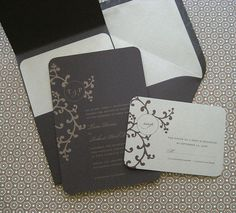 Invite with stamp