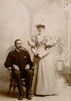 George (Gjermud) and Clara Skaar :: Skamania County Heritage