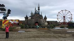 Banksy has built his own version of Disneyland, entitled Dismaland, in a disused lido in a British holiday resort town.