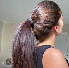Long Hair Ponytail, Straight Ponytail, Ponytail Hairstyles, Straight Hairstyles, Cool Hairstyles, Indian Hairstyles, Long Silky Hair, Super Long Hair, Beautiful Brown Hair