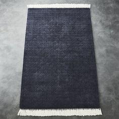 Divvy Dusty Indigo Blue Rug |