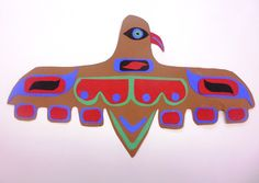 Cut paper Pacific Costal Indian art Native American Lessons, Native American Projects, Native American Art, Montessori Art, Autumn Art, Aboriginal Art, Native Art, Elementary Art, Wild West