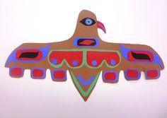 Cut paper Pacific Costal Indian art