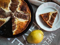 Low carb pear pie / Hruškový koláč