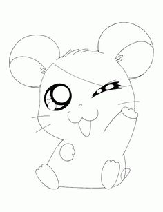 Fox Coloring Page, Baby Coloring Pages, Farm Animal Coloring Pages, Monster Coloring Pages, Dinosaur Coloring Pages, Cartoon Coloring Pages, Printable Coloring Pages, Coloring Books, Hamtaro
