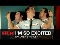 "Full trailer for Almodovar's ""I'm So Excited"""