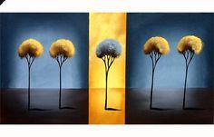 Landscape Painting - Desert Flower #1285