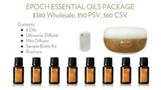 Get ready to experience Epoch essential oils.