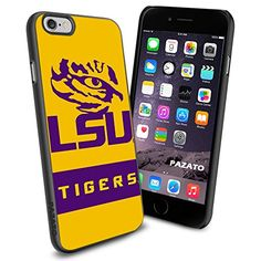 "LSU Tigers iPhone 6 4.7"" Case Cover Protector for iPhone 6 TPU Rubber Case SHUMMA http://www.amazon.com/dp/B00T3ZSKS2/ref=cm_sw_r_pi_dp_2n2mvb15RB2KW"