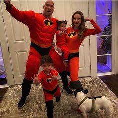 Dwayne Johnson Kids, The Rock Dwayne Johnson Workout, Dwayne Jonson, Live Action, Lauren Hashian, Superhero Family, Rock Family, Rock Johnson, Dwayne The Rock