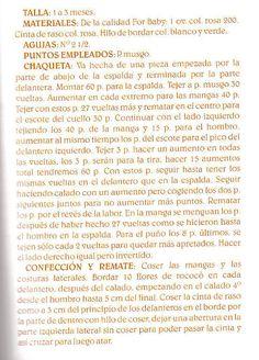SOLO ROPITA DE BEBE EN PUNTO, GANCHILLO Y TELA   Aprender manualidades es facilisimo.com