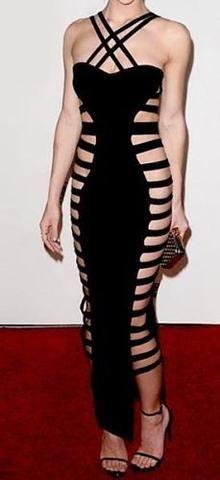 Zola Sexy Cutout Side Dress