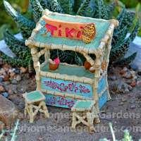Miniature Tiki Bar