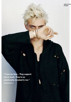 Lucky Blue Smith Charms in Casual i D Shoot | Photographed by Matt Jones ❤️