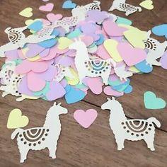 Llama Party Table CONFETTI | Baby Shower | Christening | Birthday Party | eBay
