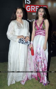 Salma Agha with her daughter Sasha Agha