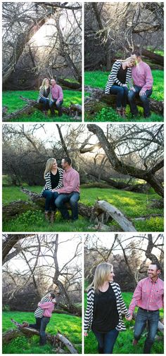 Jessica and Travis | Spanish Oaks Ranch Engagement Photography | Melissa Jean Photography | San Luis Obispo Wedding Photographer Picnic Blanket, Outdoor Blanket, San Luis Obispo, Engagement Photography, Spanish, Wedding, Valentines Day Weddings, Mariage, Weddings