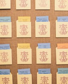 Adding to the sense of place, old library cards guided diners to their tables at the Academy of Medicine library venue.
